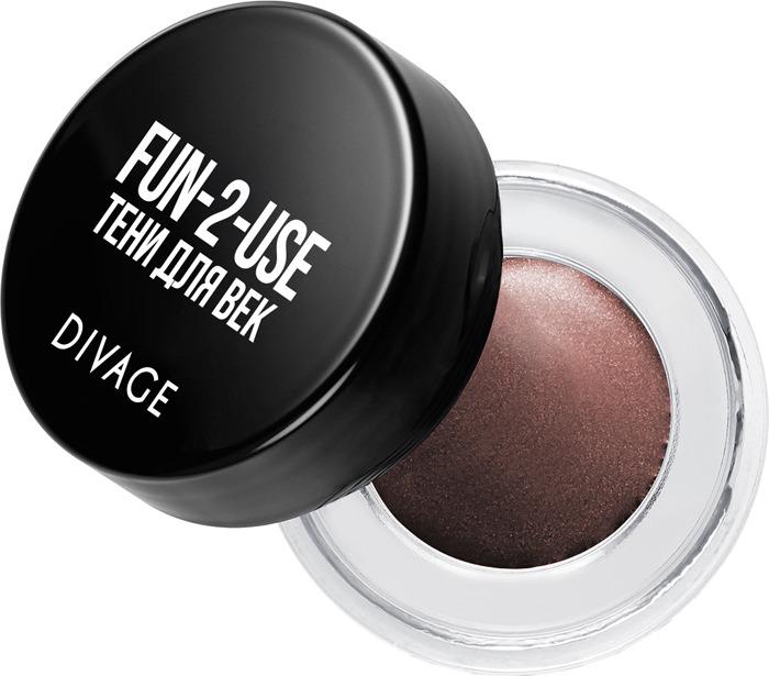 Тени для век Divage Eyeshadow In A Jar, Тон Fun 2 Use № 04