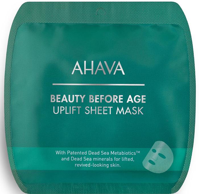 Тканевая маска для лица Ahava Beauty Before Age, с подтягивающим эффектом маска пленка для придания упругости коже лица health