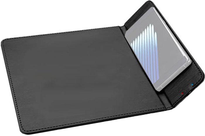 Беспроводное зарядное устройство Qcyber Mobile QW-PAD + коврик для мыши, Black беспроводное зарядное устройство qcyber mobile qw pad коврик для мыши black