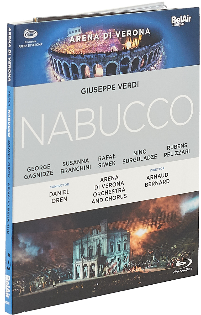 Verdi: Nabucco (Blu-ray) verdi nabucco arena di verona