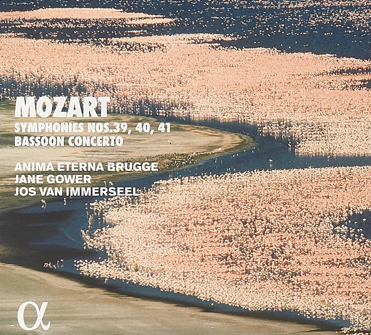 цены на Anima Eterna Brugge,Джейн Гауэр,Йос Ван Иммерсель Anima Eterna Brugge, Jane Gower, Jos Van Immerseel. Mozart. Symphonies Nos. 39, 40, 41 & Bassoon Concerto (2 CD)  в интернет-магазинах