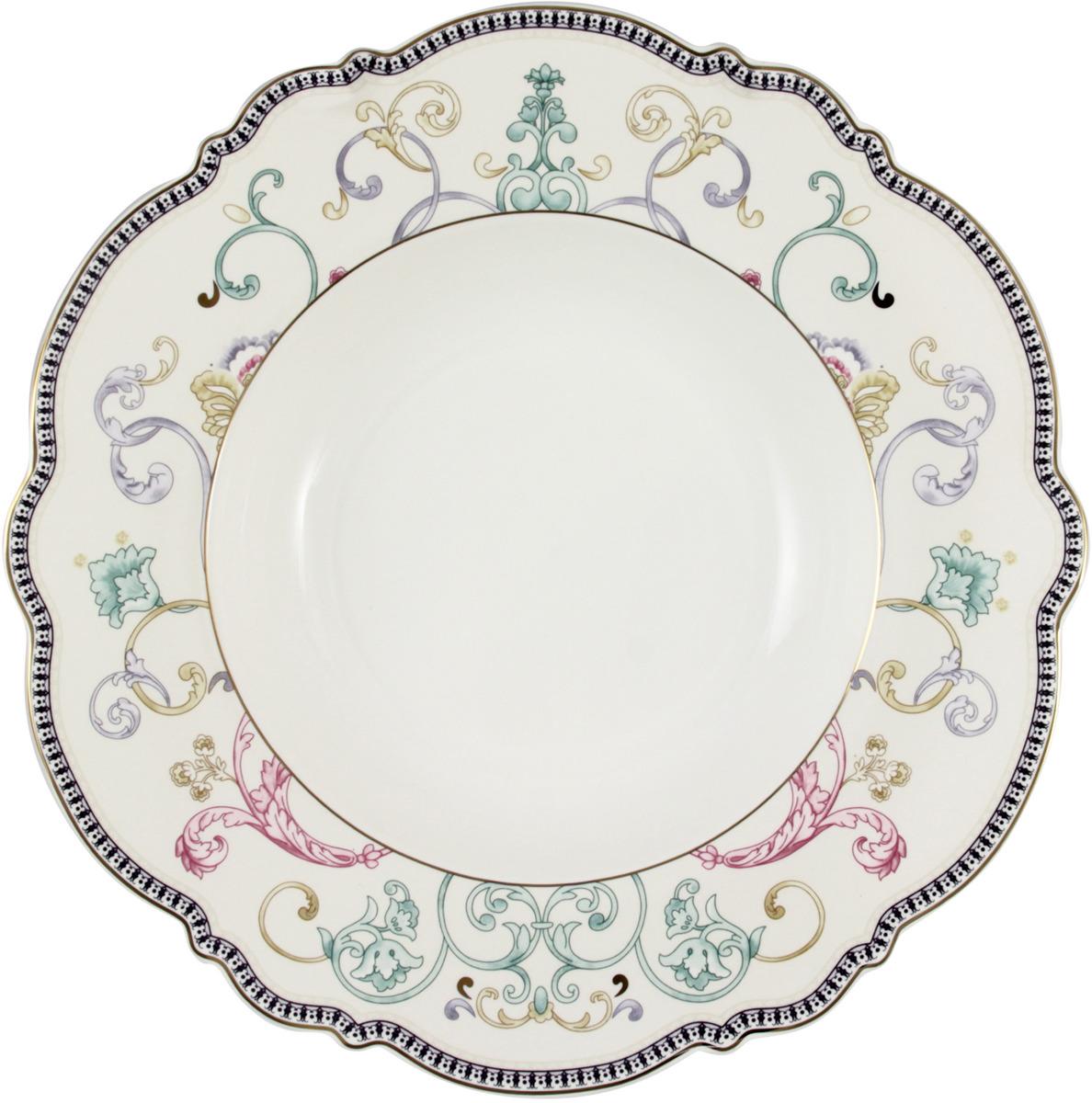 "Набор суповых тарелок Anna Lafarg Stechcol ""Узор"", диаметр 22 см, 2 шт"