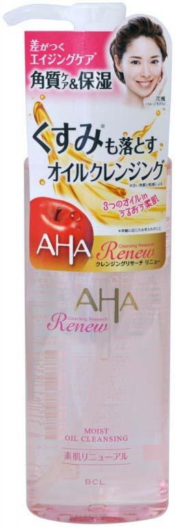 Масло-гель для снятия макияжа BCL Cleansing Research, с фруктовыми кислотами, 145 г BCL