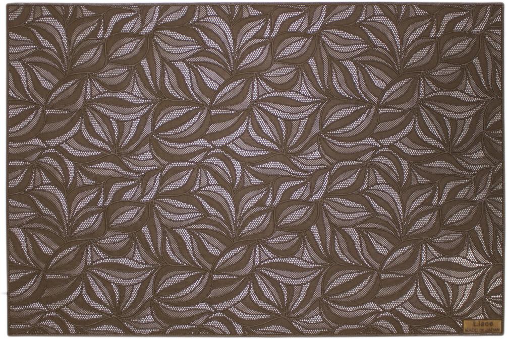 Салфетка Towa Konoha, цвет: коричневый, 30 х 45 см, 4 шт. С-002 салфетка towa tsuta цвет светло зеленый 30 х 45 см 4 шт в 005