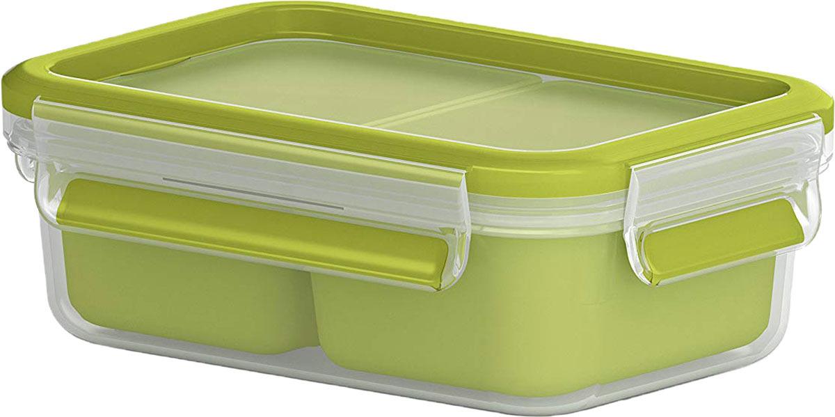 Контейнер для перекусов Emsa Clip&Go, 0,55 л контейнер пищевой emsa clip