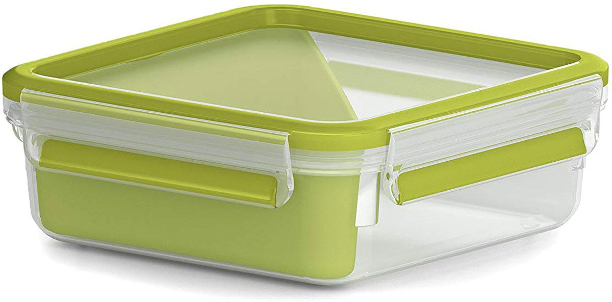Контейнер для сэндвичей Emsa Clip&Go, 0,85 л контейнер для торта emsa superline с охлаждающим элементом цвет голубой 2 л