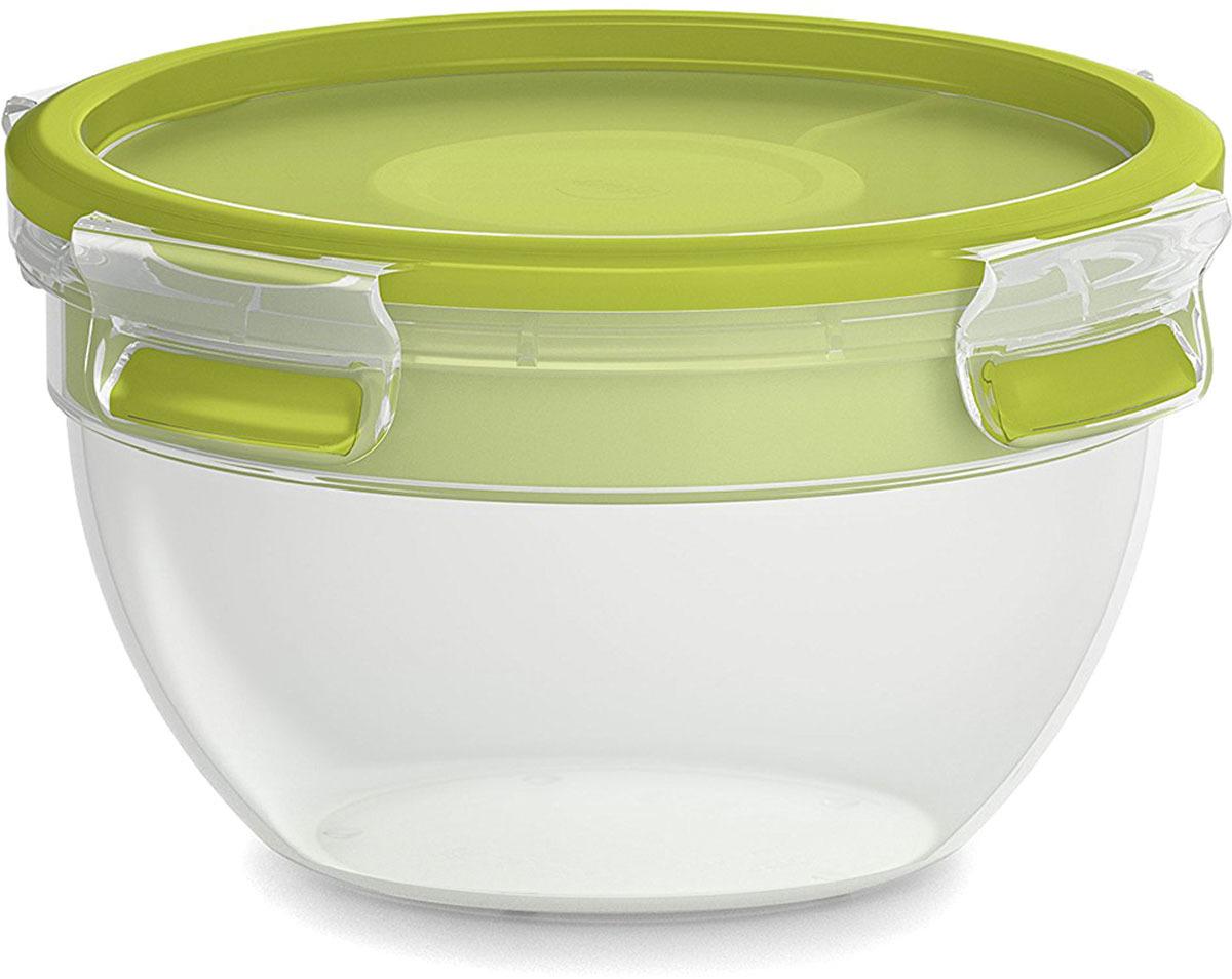 Контейнер для салатов Emsa Clip&Go, 1 л контейнер для торта emsa superline с охлаждающим элементом цвет голубой 2 л