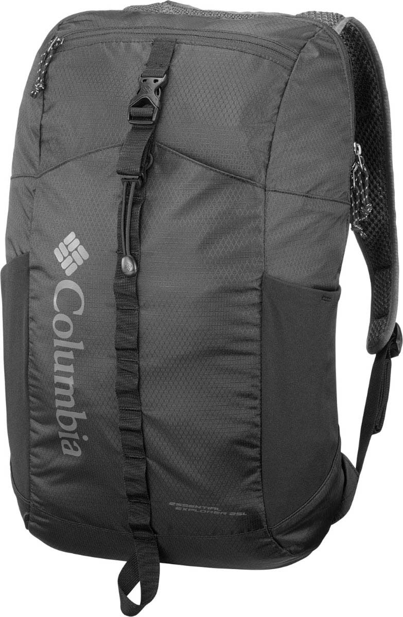 Рюкзак спортивный Columbia Essential Explorer 25L, цвет: черный, 25 л туристический рюкзак columbia lu0672 2015 25l