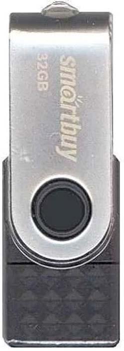 USB флеш-накопитель Smartbuy Trio 32GB 3-in-1 OTG, Black usb флеш накопитель smartbuy trio 64gb 3 in 1 otg black