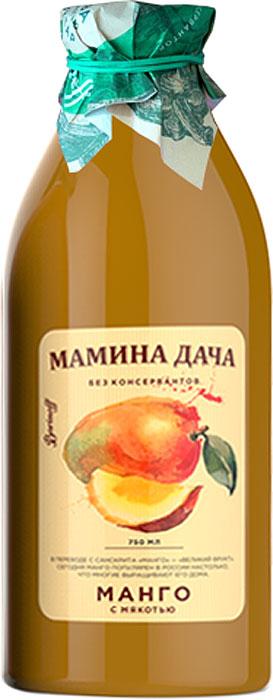 Нектар Манго с мякотью Мамина дача, 0,75л