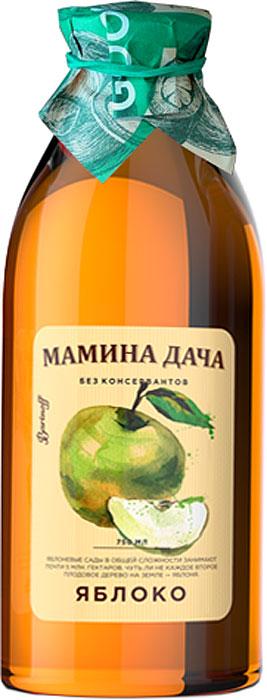 Сок Яблочный Мамина дача, восстановленный осветвленный, 0,75л