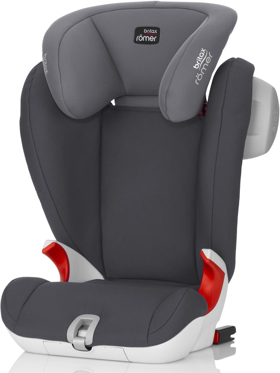 Автокресло детское Britax Roemer Kidfix SL SICT Storm Grey Trendline от 15 до 36 кг, 2000025696, серый britax römer автокресло britax romer versafix 9 18 кг steel grey