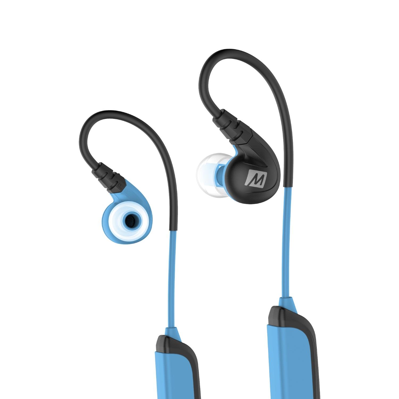 Беспроводные наушники MEE Audio X8, синий