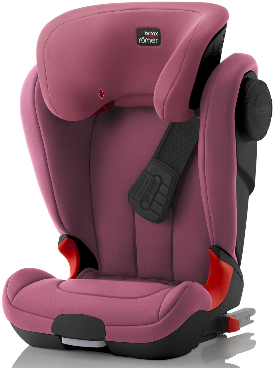 Автокресло детское Britax Roemer Kidfix XP SICT Black Series Wine Rose Trendline от 15 до 36 кг, 2000027580, розовый автокресло детское britax roemer kidfix xp sict black series blue marble highline от 15 до 36 кг
