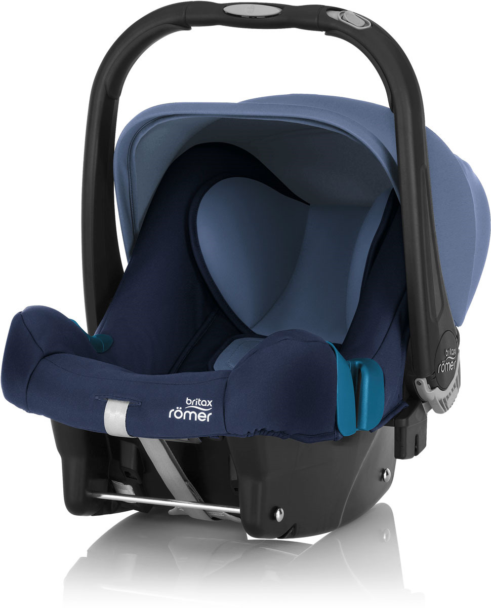 Автокресло детское Britax Roemer Baby-Safe Plus SHR II Moonlight Blue Trendline, до 13 кг цена
