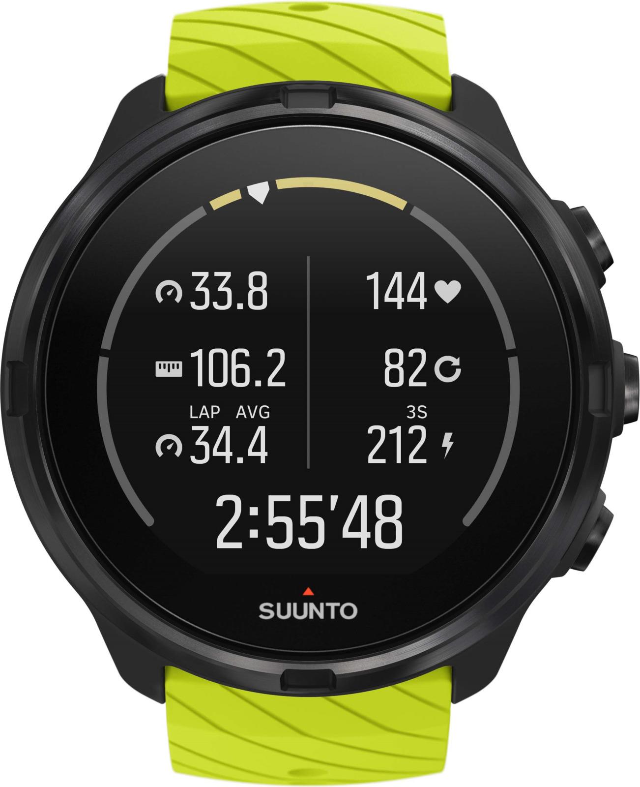 Спортивные часы Suunto 9 G1 Lime спортивные часы suunto 9 white