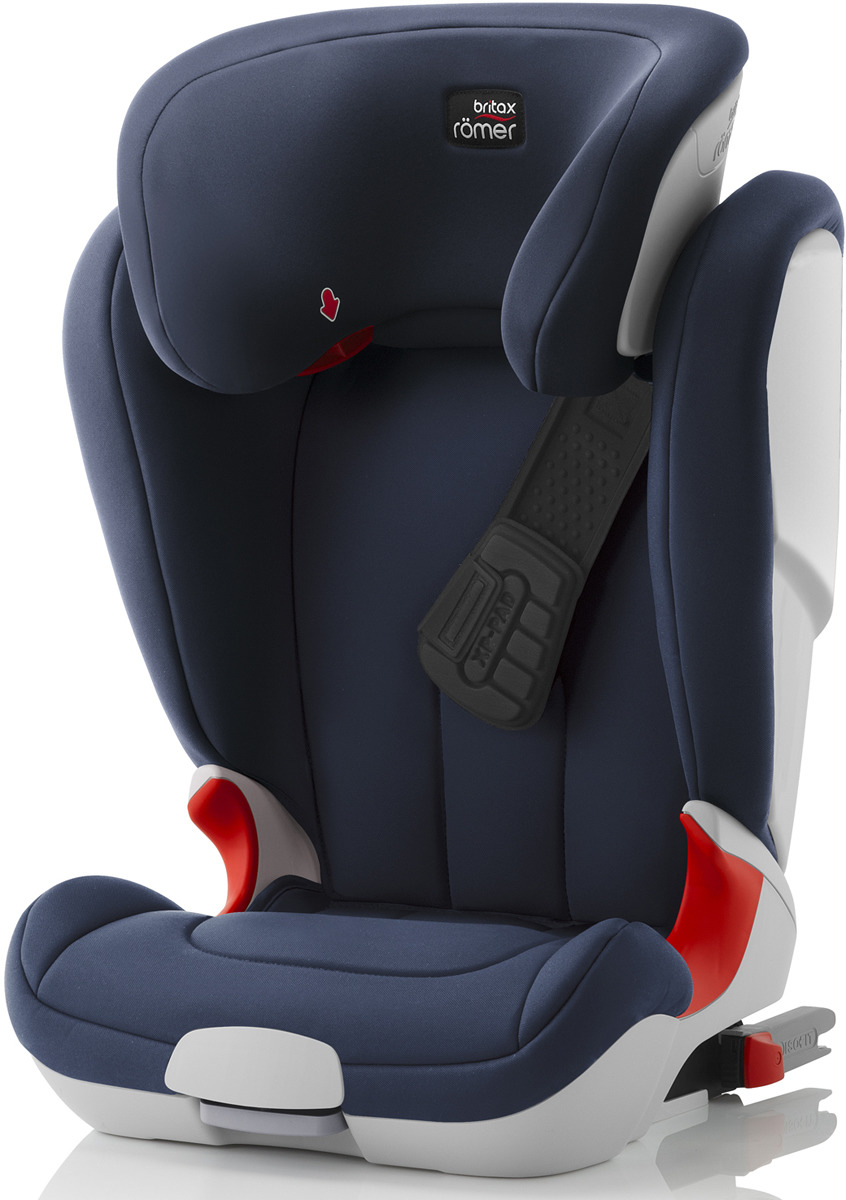 Автокресло детское Britax Roemer Kidfix XP Moonlight Blue Trendline от 15 до 36 кг, 2000027901, темно-синий автокресло детское britax roemer kidfix xp sict black series blue marble highline от 15 до 36 кг