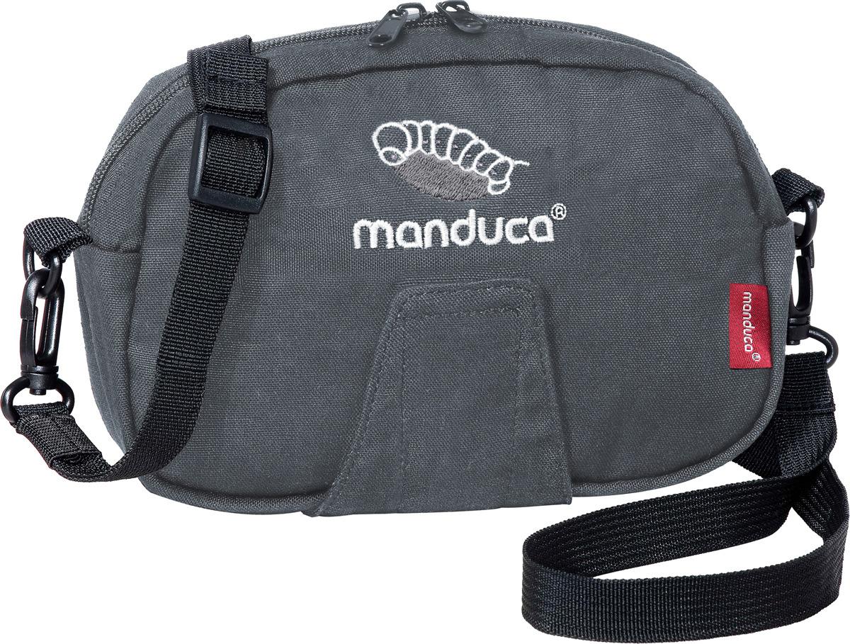 Поясная сумочка Manduca Pouch, цвет: серый