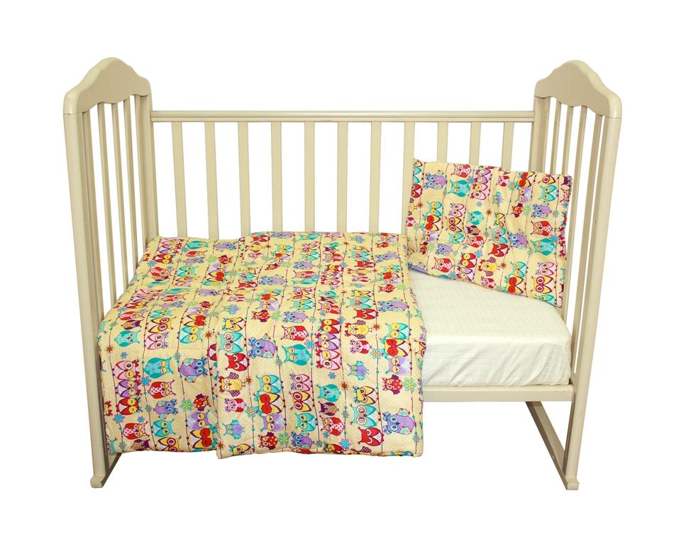 Комплект одеяло 110х140 см. + подушка 40х60 см., Soft Story Совушки комплект одеяло и подушки soft story мишки в облаках