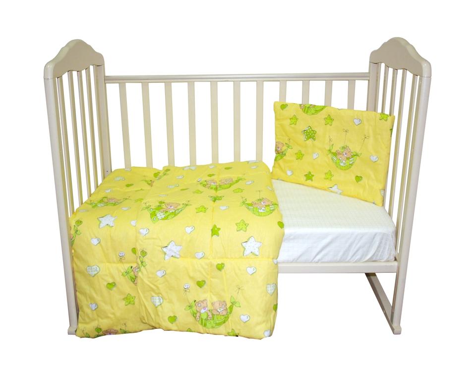 Комплект одеяло 110х140 см. + подушка 40х60 см., Soft Story Мишки в гамаке комплект одеяло и подушки soft story мишки в облаках