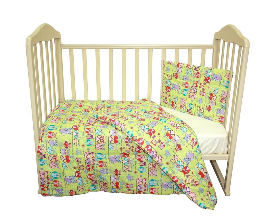 f24ea8d4a457 Комплект одеяло и подушки Soft Story Совушки, салатовый — купить в  интернет-магазине OZON с быстрой доставкой