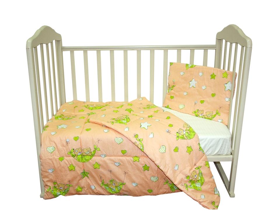 Комплект одеяло и подушки Soft Story Мишки в гамаке комплект одеяло и подушки soft story мишки в облаках