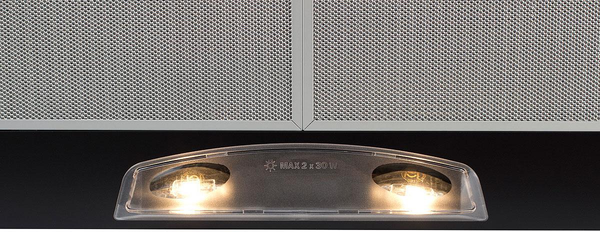 Вытяжка настенная Simfer 8667 SM, цвет:  черный Simfer