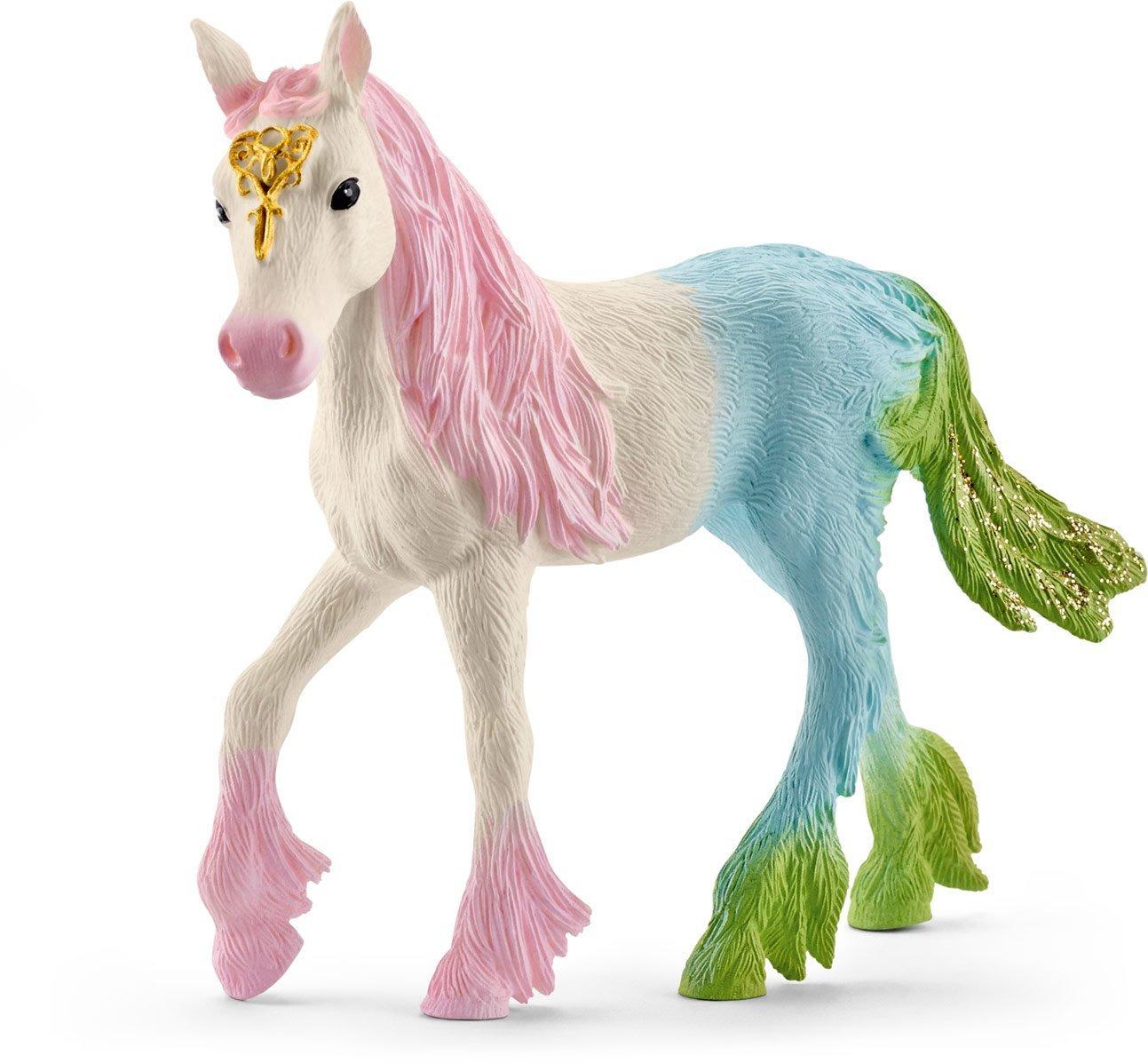 Schleich Фигурка Эльфийский разноцветный жеребенок