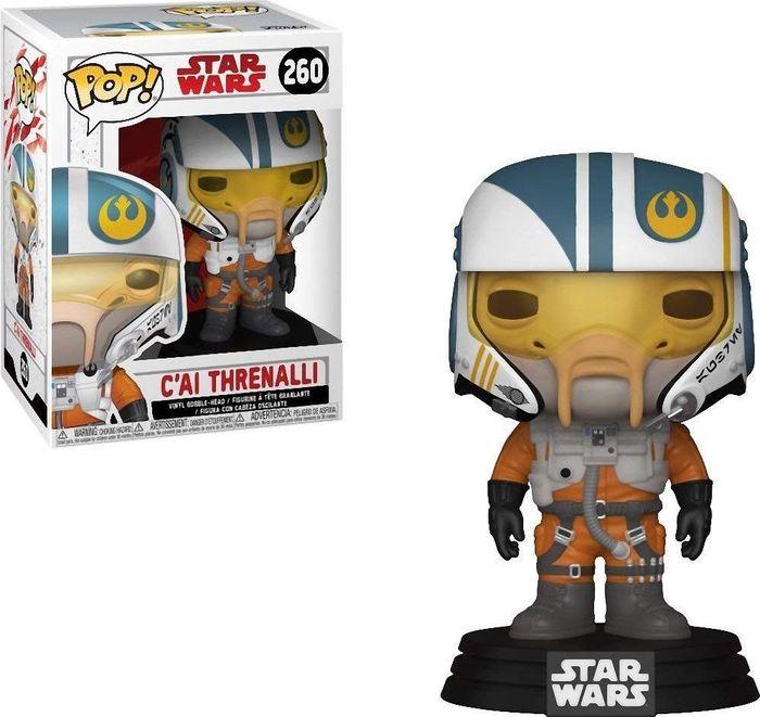 Фигурка Funko POP! Bobble: Star Wars: The Last Jedi: C'ai Threnalli 31793 funko pop bobble фигурка star wars e8 tlj poe dameron pop 6 14747