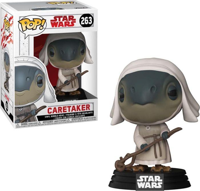 Фигурка Funko POP! Bobble: Star Wars: The Last Jedi: Caretaker 31792 funko pop bobble фигурка star wars e8 tlj poe dameron pop 6 14747
