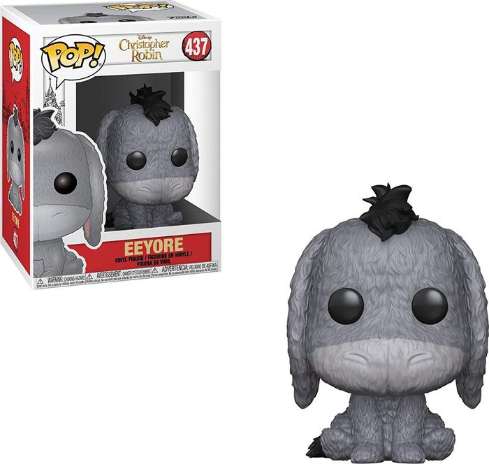 Фигурка Funko POP! Vinyl: Disney: Christopher Robin: Ослик Иа POP 1 32089 фигурка funko pop vinyl stranger things mike at dance 35055