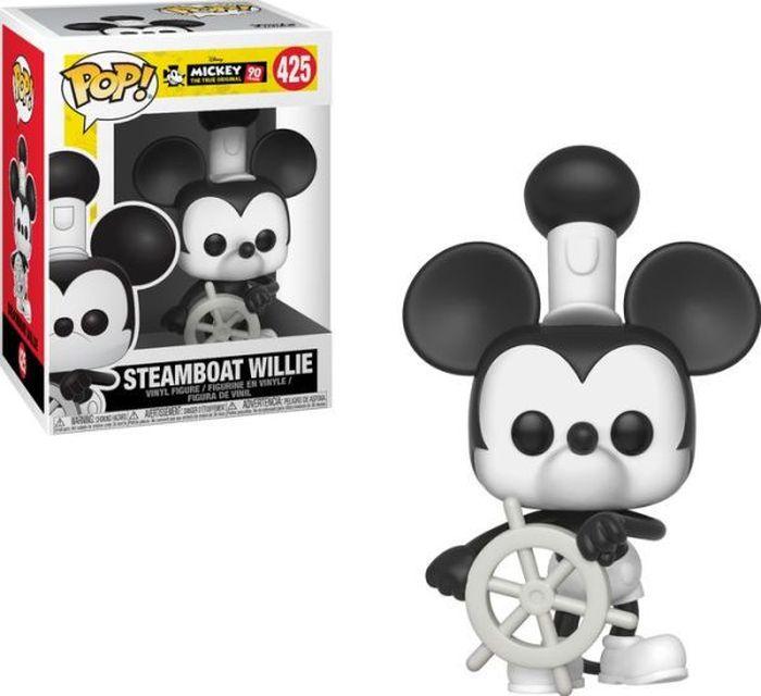 Фигурка Funko POP! Vinyl: Disney: Mickey's 90th: Steamboat Willie 32182 funko pop vinyl фигурка disney ratatouille linguini 13444
