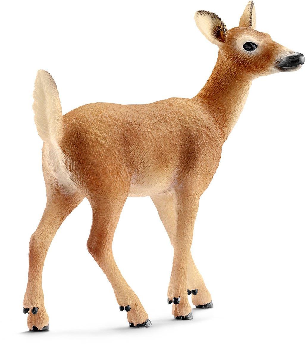 Schleich Фигурка Косуля какие игрушки интересны для малыша 8 месяцев фото