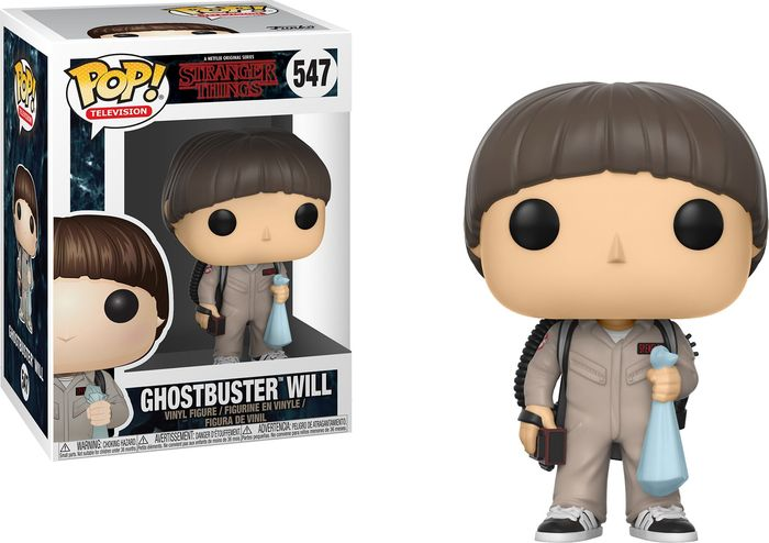 Фигурка Funko POP! Vinyl: Stranger Things S3: Will Ghostbusters 21488 funko pop vinyl фигурка lotr hobbit s3 pippin took 13564