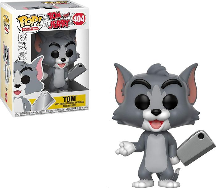 Фигурка Funko POP! Vinyl: Tom and Jerry S1: Tom 32165 цена
