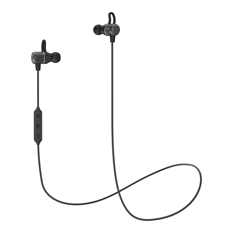Беспроводные наушники MEE Audio EB1 EarBoost, с адаптивным аудио и улучшением звука, черный