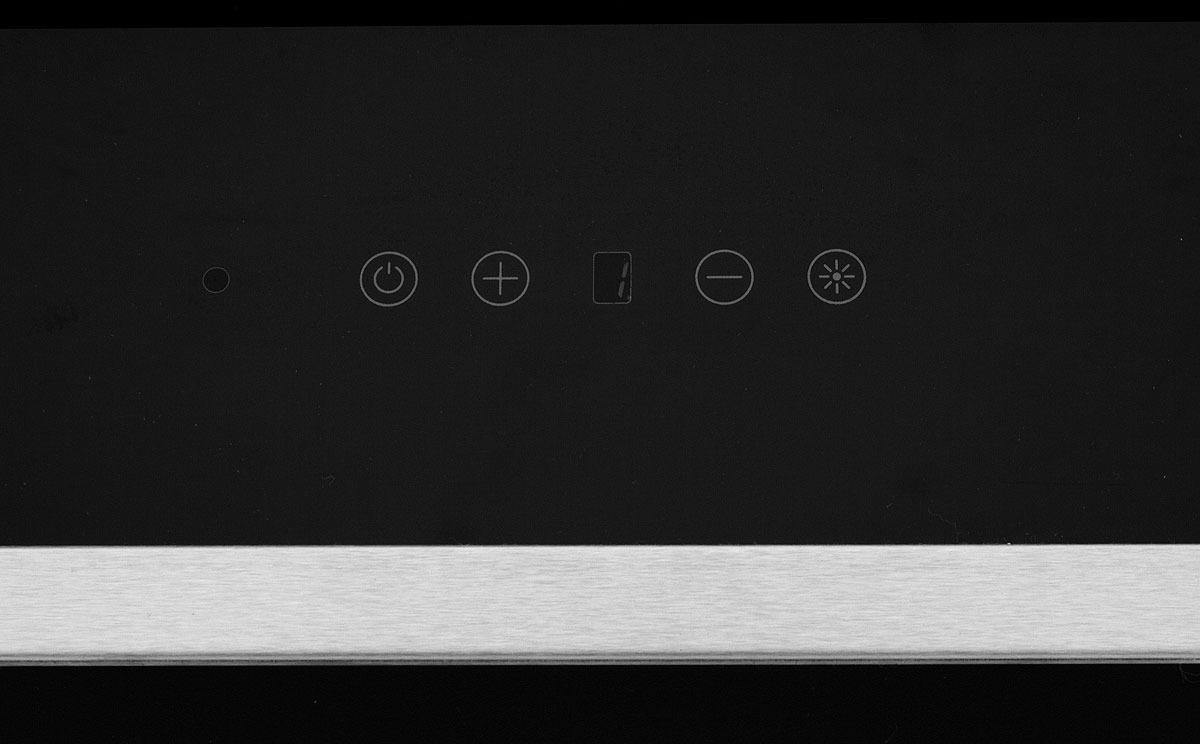 Вытяжка настенная Simfer 8658 SM, цвет:  черный Simfer