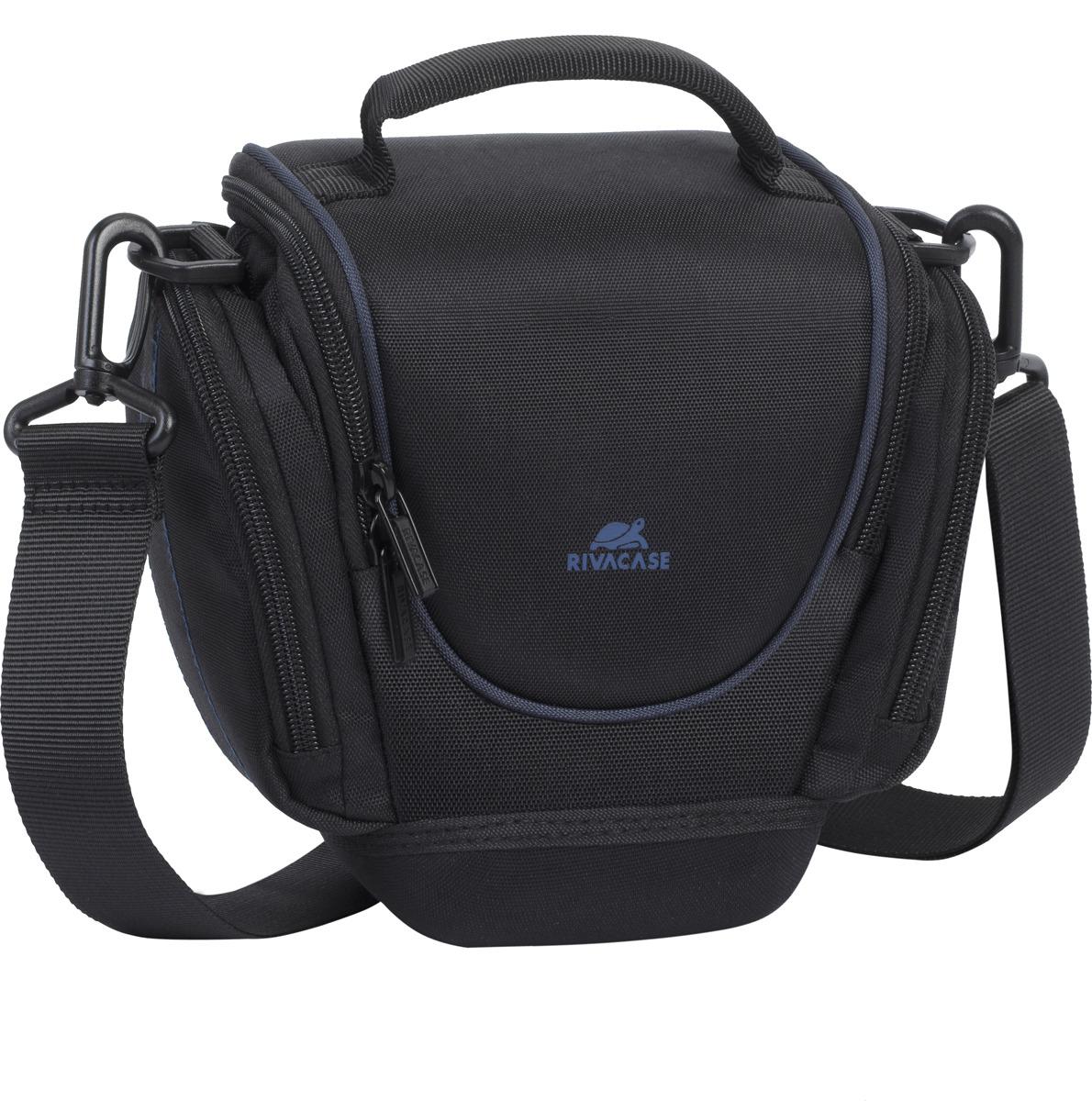 Сумка для фотоаппарата RivaCase 7202 SLR Black rivacase 7630 slr case pro black сумка для зеркальной фотокамеры