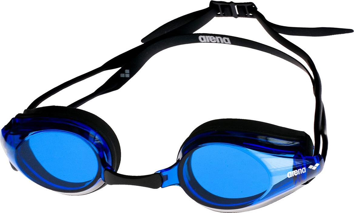 Очки для плавания Arena Tracks, цвет: черный, синий. 92341 57 arena импортные плавательные очки противотуманные большие рамочные очки водонепроницаемые