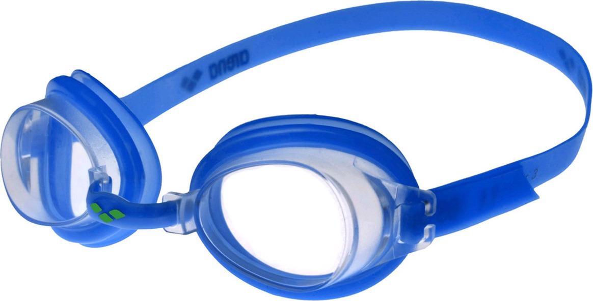 цена на Очки для плавания детские Arena Bubble 3 Jr, цвет: голубой. 92395 70