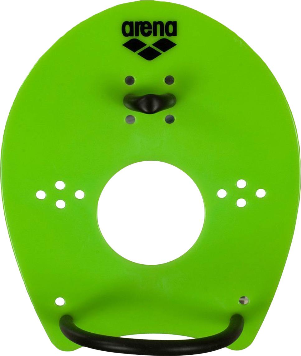 Лопатки для гребли Arena Elite Hand Paddle, цвет: зеленый, черный. Размер L. 95250 65 m l bladd arena