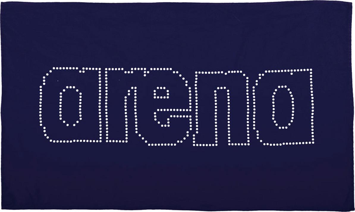 Полотенце Arena Haiti, цвет: темно-синий, белый, 60 х 100 см. 2A489 71 полотенца valentini полотенце earleen цвет темно синий набор