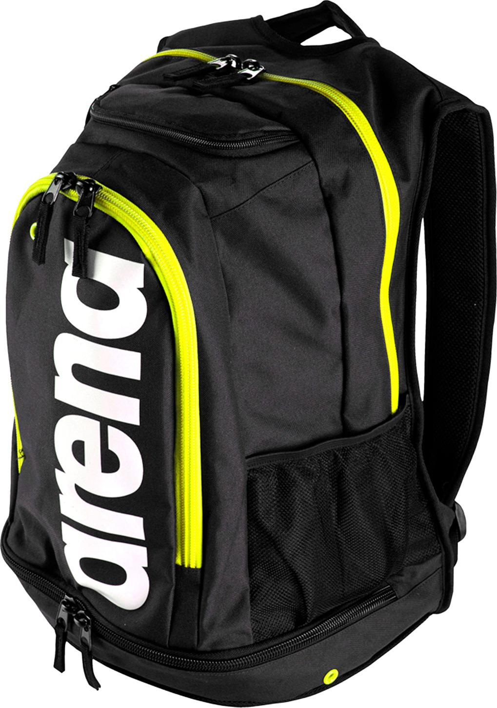 Рюкзак спортивный Arena Fastpack Core, цвет: черный, салатовый, 40 л. 000027 561 цена и фото