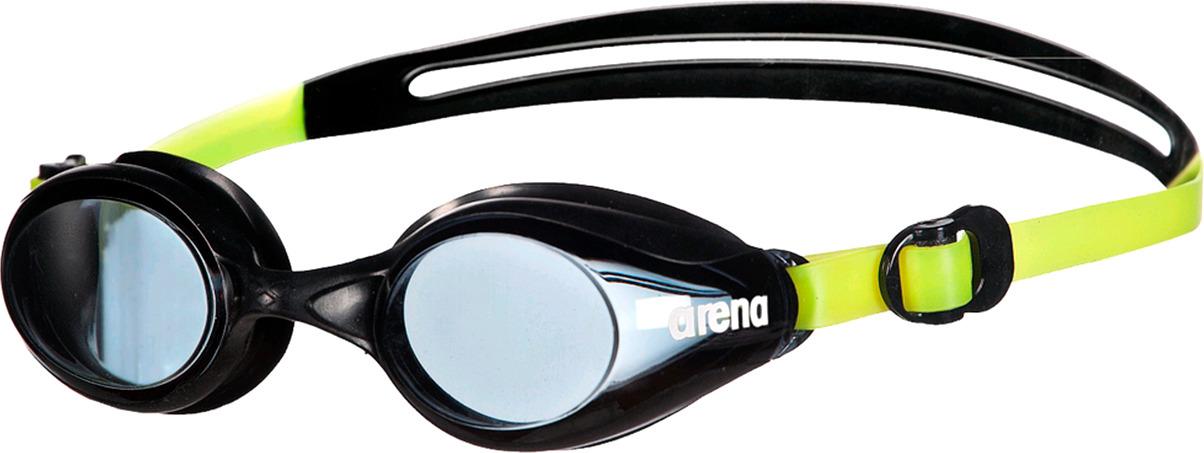 Очки для плавания Arena Sprint, цвет: желтый, черный. 92362 503 arena импортные плавательные очки противотуманные большие рамочные очки водонепроницаемые