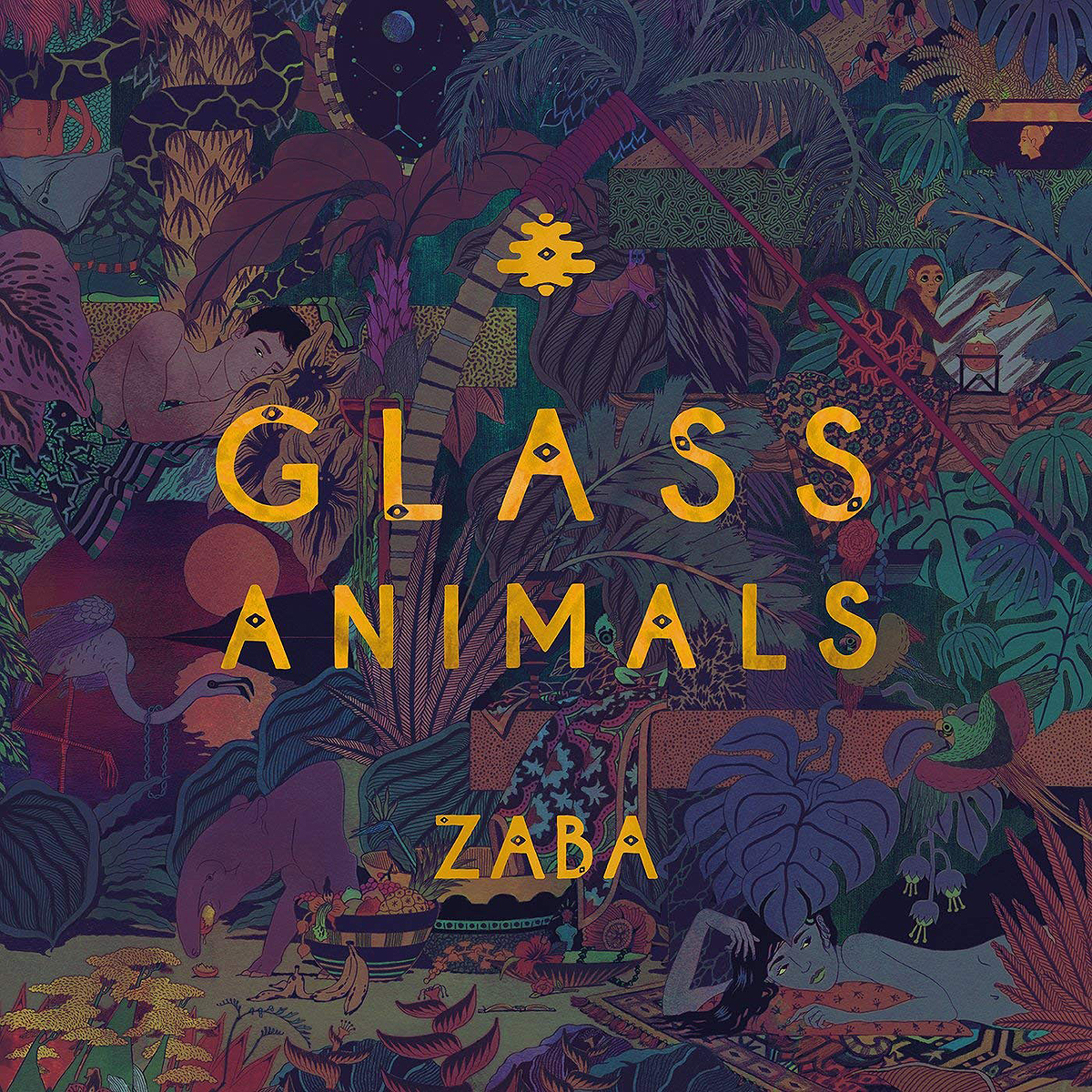 Glass Animals Glass Animals. Zaba (LP) glass animals glass animals how to be a human being