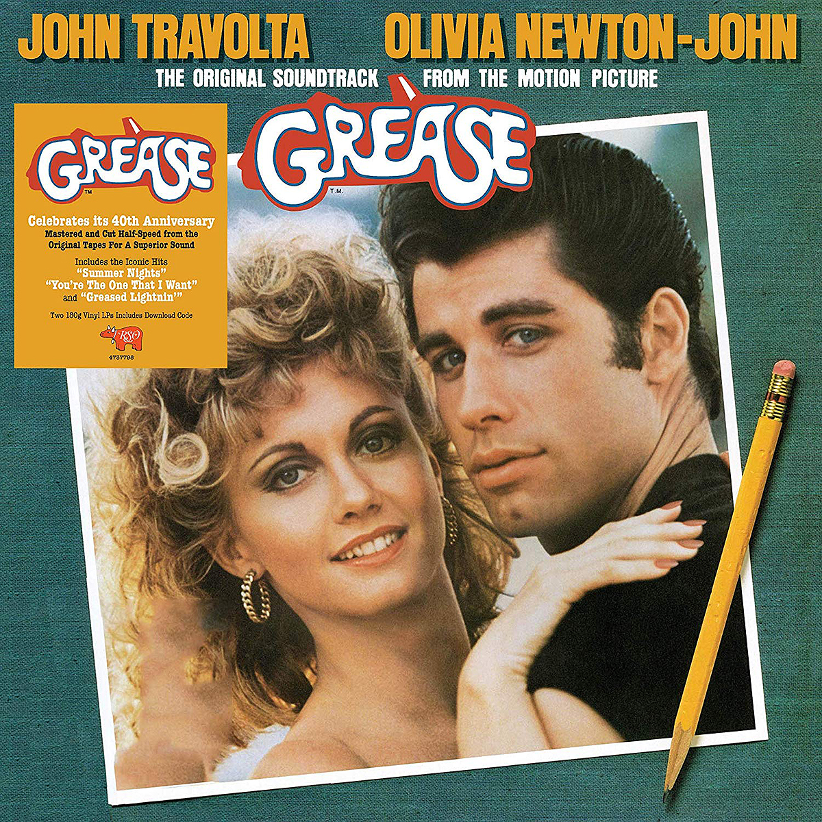 Grease. Original Motion Picture Soundtrack (2 LP)