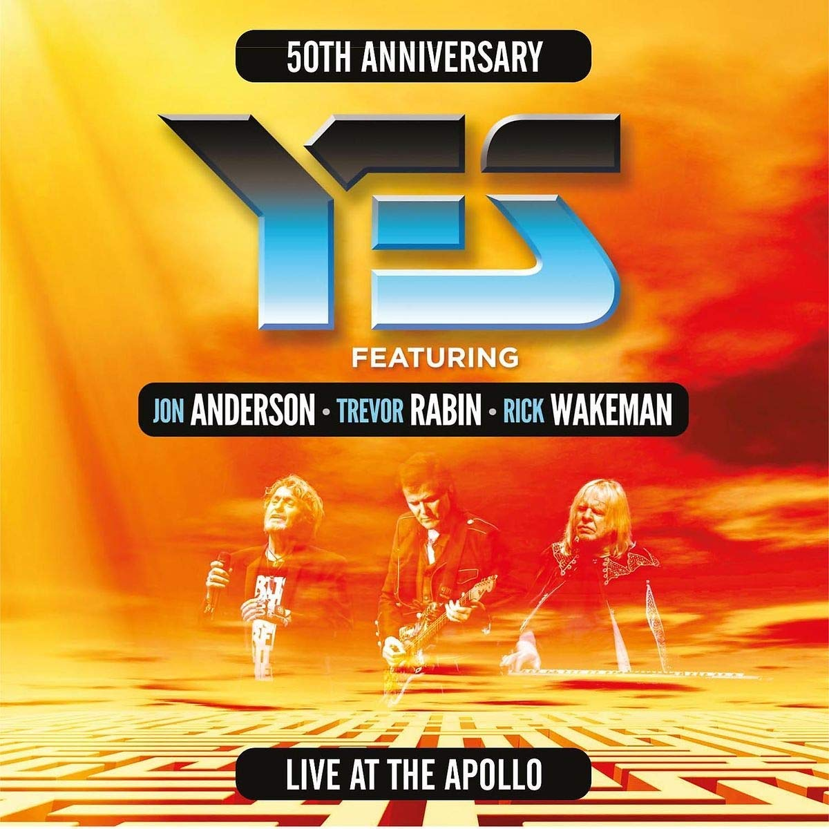 Yes Yes. Live At The Manchester Apollo (3 LP) yes yes the yes album lp