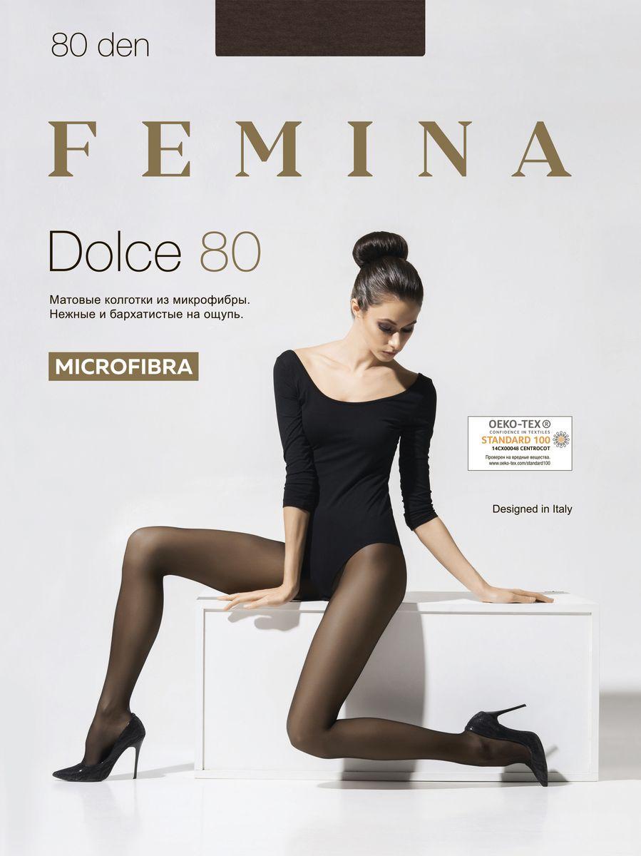Колготки Femina колготки женские femina dolce 40 цвет nero черный размер 3