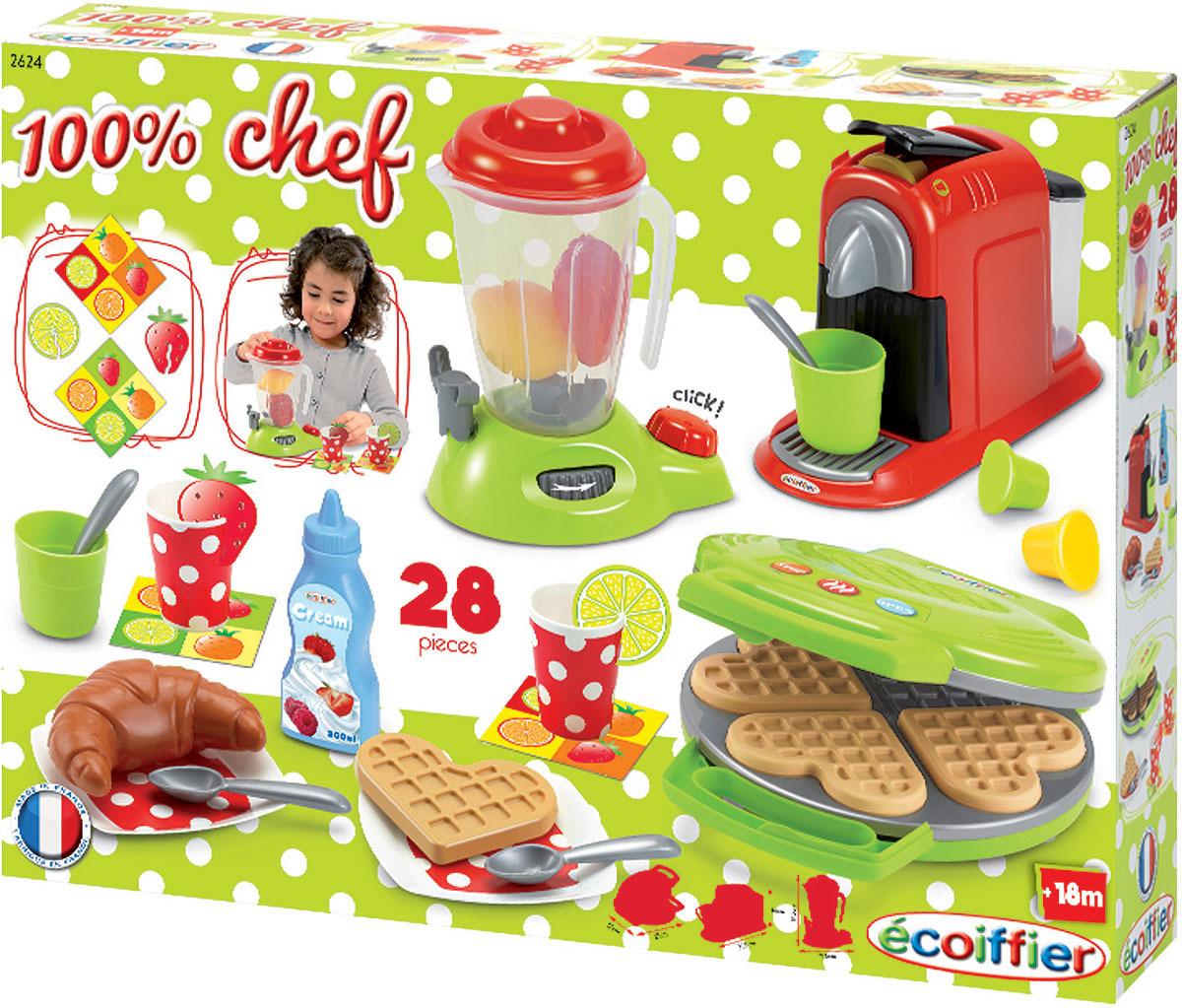 Сюжетно-ролевые игрушки Ecoiffier Chef. Набор кухонной техники игра ecoiffier chef набор посуды с сушилкой 2619