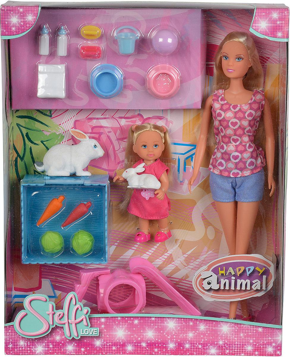 Кукла Simba Штеффи и Еви. 5732156 набор кукол simba штеффи и еви мир животных